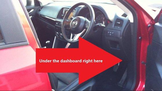 Mazda Cx 5 Obd2 Diagnostic Port Location