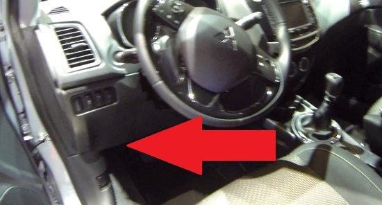 Mitsubishi Asx Outlander Mk3 Obd2 Diagnostic Port Location