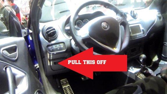 Automotive Scan Tool >> Alfa Romeo Mito OBD2 Diagnostic Port Location