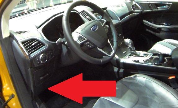 Ford Escape Problems >> Ford Edge Mk2 OBD2 Diagnostic Port Location