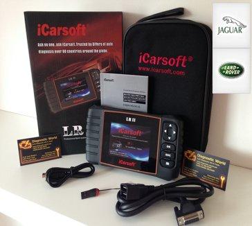 Land Rover & Jaguar iCarsoft LR II Multi System Diagnostic Tool