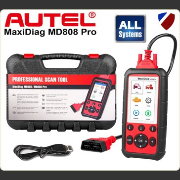 Autel MD808 Pro Multi System Diagnostic Package for ABS, Engine