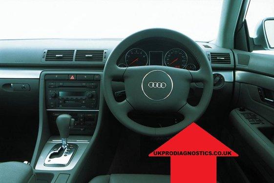 Audi A4 B6 Diagnostic Port Location
